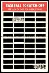 1970 Topps Scratch-Offs  Tony Perez  Back Thumbnail