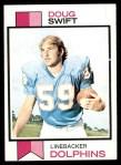 1973 Topps #124  Doug Swift  Front Thumbnail