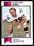 1973 Topps #432  Glen Ray Hines  Front Thumbnail