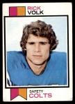 1973 Topps #105  Rick Volk  Front Thumbnail