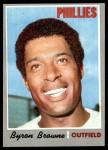1970 Topps #388  Byron Browne  Front Thumbnail