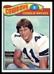 1977 Topps #15  Charlie Waters  Front Thumbnail