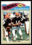 1977 Topps #235  Ken Anderson  Front Thumbnail