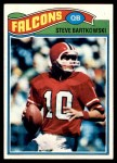 1977 Topps #363  Steve Bartkowski  Front Thumbnail