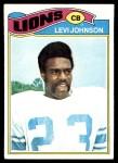 1977 Topps #43  Levi Johnson  Front Thumbnail