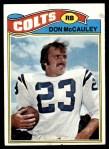 1977 Topps #288  Don McCauley  Front Thumbnail