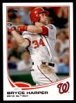 2013 Topps #369  Bryce Harper  Front Thumbnail