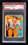 1935 National Chicle #34  Bronko Nagurski   Front Thumbnail