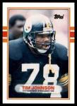 1989 Topps Traded #101 T Tim Johnson  Front Thumbnail