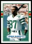 1989 Topps Traded #114 T Chris Burkett  Front Thumbnail
