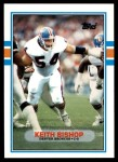 1989 Topps Traded #8 T Keith Bishop  Front Thumbnail
