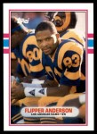 1989 Topps Traded #14 T Flipper Anderson  Front Thumbnail