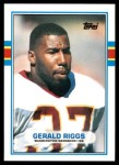 1989 Topps Traded #27 T Gerald Riggs  Front Thumbnail