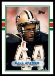 1989 Topps Traded #28 T Dave Waymer  Front Thumbnail