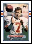 1989 Topps Traded #40 T Ron Jaworski  Front Thumbnail