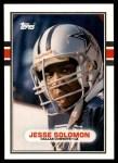 1989 Topps Traded #57 T Jesse Solomon  Front Thumbnail