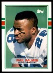1989 Topps Traded #85 T Paul Palmer  Front Thumbnail