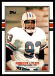 1989 Topps Traded #130 T Robert Lyles  Front Thumbnail