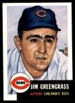 1953 Topps Archives #209  Jim Greengrass  Front Thumbnail