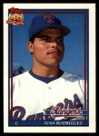 1991 Topps Traded #101 T Ivan Rodriguez  Front Thumbnail