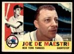1960 Topps #358  Joe DeMaestri  Front Thumbnail