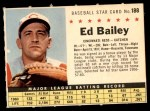 1961 Post #188 COM Ed Bailey   Front Thumbnail