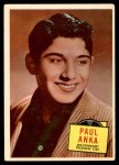 1957 Topps Hit Stars #47  Paul Anka   Front Thumbnail