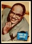 1957 Topps Hit Stars #20  Ivory Joe Hunter  Front Thumbnail