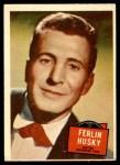 1957 Topps Hit Stars #38  Ferlin Husky   Front Thumbnail