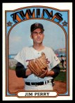 1972 Topps #220  Jim Perry  Front Thumbnail