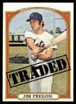 1972 Topps #755   -  Jim Fregosi Traded Front Thumbnail