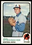 1973 Topps #457  John Strohmayer  Front Thumbnail
