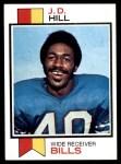 1973 Topps #69  J.D. Hill  Front Thumbnail