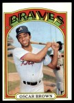 1972 Topps #516  Oscar Brown  Front Thumbnail