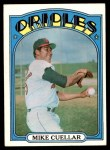 1972 Topps #70  Mike Cuellar  Front Thumbnail