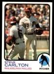 1973 Topps #300  Steve Carlton  Front Thumbnail