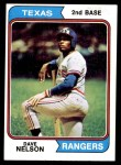 1974 Topps #355  Dave Nelson  Front Thumbnail