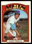 1972 Topps #293  Dan Frisella  Front Thumbnail