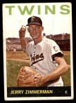 1964 Topps #369  Jerry Zimmerman  Front Thumbnail