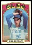 1972 Topps #29 YLW Bill Bonham  Front Thumbnail