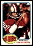 1976 Topps #418  Gene Washington  Front Thumbnail
