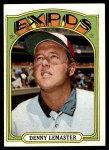 1972 Topps #371  Denny Lemaster  Front Thumbnail