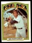 1972 Topps #411  Bob Montgomery  Front Thumbnail