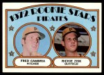 1972 Topps #392   -  Richie Zisk / Fred Camria Pirates Rookies   Front Thumbnail