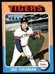 1975 Topps #42  Joe Coleman  Front Thumbnail