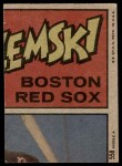 1972 Topps #558   -  Blue Moon Odom In Action Back Thumbnail