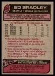 1977 Topps #266  Ed Bradley  Back Thumbnail