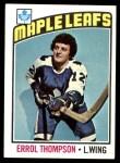 1976 Topps #259  Errol Thompson  Front Thumbnail