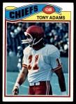 1977 Topps #394  Tony Adams  Front Thumbnail