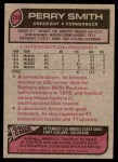 1977 Topps #253  Perry Smith  Back Thumbnail